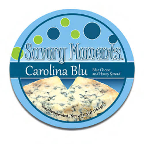 CBR interviewing with the owners of Savory Moments about their latest success breaking into the mainstream grocery store market. savory moments carolina blu logo