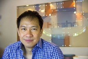 Philip Maung, an international entrepreneur in the City of Charlotte