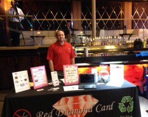 Red Diamond Card join hands with Charlotte Business Resources  for a victory