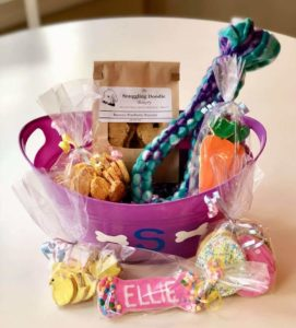Charlotte Business Resources  has helped The Snuggling Doodle Bakery to grow and expand their business
