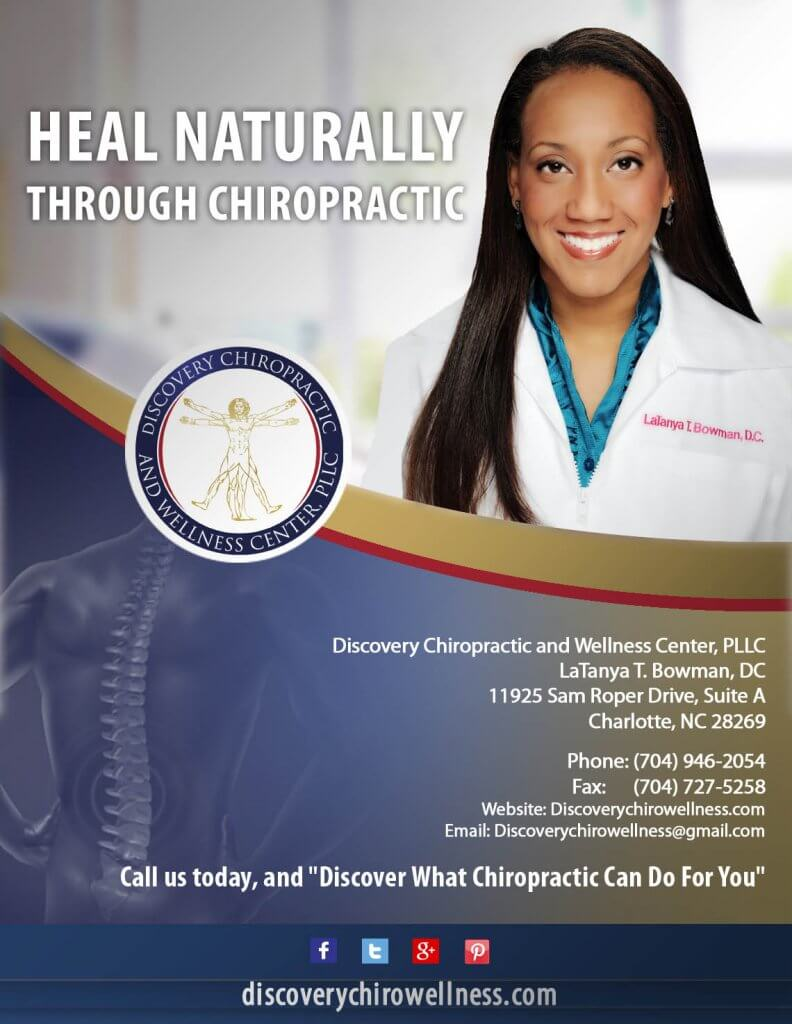 CBR interview with Dr. LaTanya T. Bowman, owner of Discovery Chiropractic and Wellness Center, PLLC