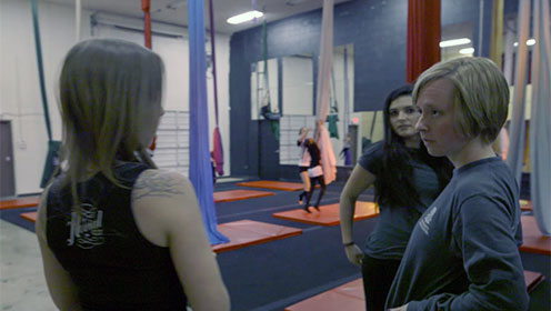 Charlotte helps AerialCLT to meet challenges and get into the business off the ground