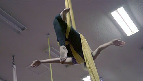 Charlotte Business Resources  motivates Amy to make AerialCLT into a great success