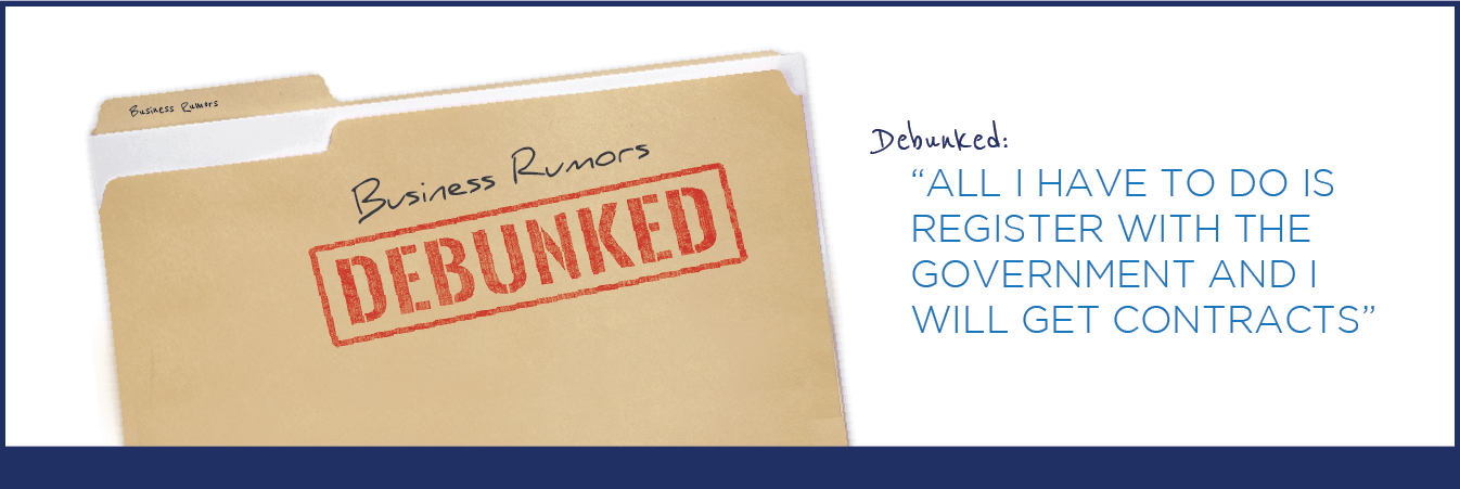 Do you have business rumors would like to debunked about