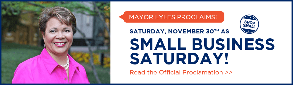 Charlotte Maylor, Vi Lyles proclaims Saturday, November 30, 2019, as Small Business Saturday!