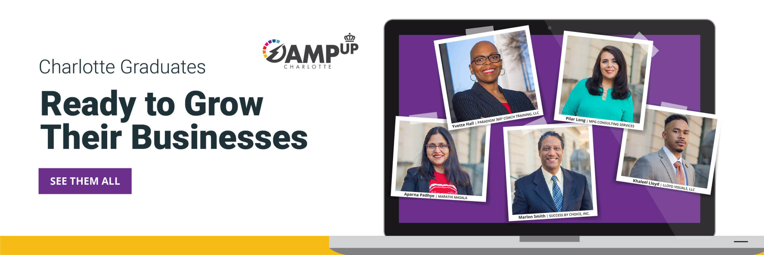 2021 AMP Up! Charlotte Graduates Ready to Grow Their Businesses